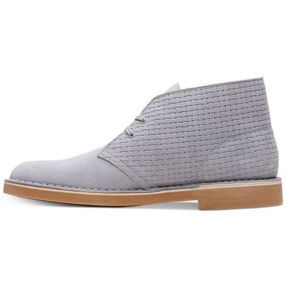 445240be930d4 Clarks Shoes | Mens Grey Bushacre 2 Chukka Boots | Poshmark